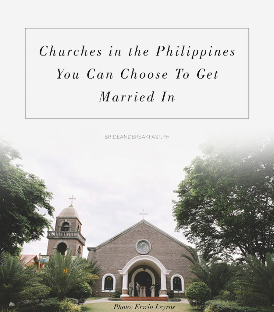Churches in the Philippines You Can Choose To Get Married In Photo: Erwin Leyros