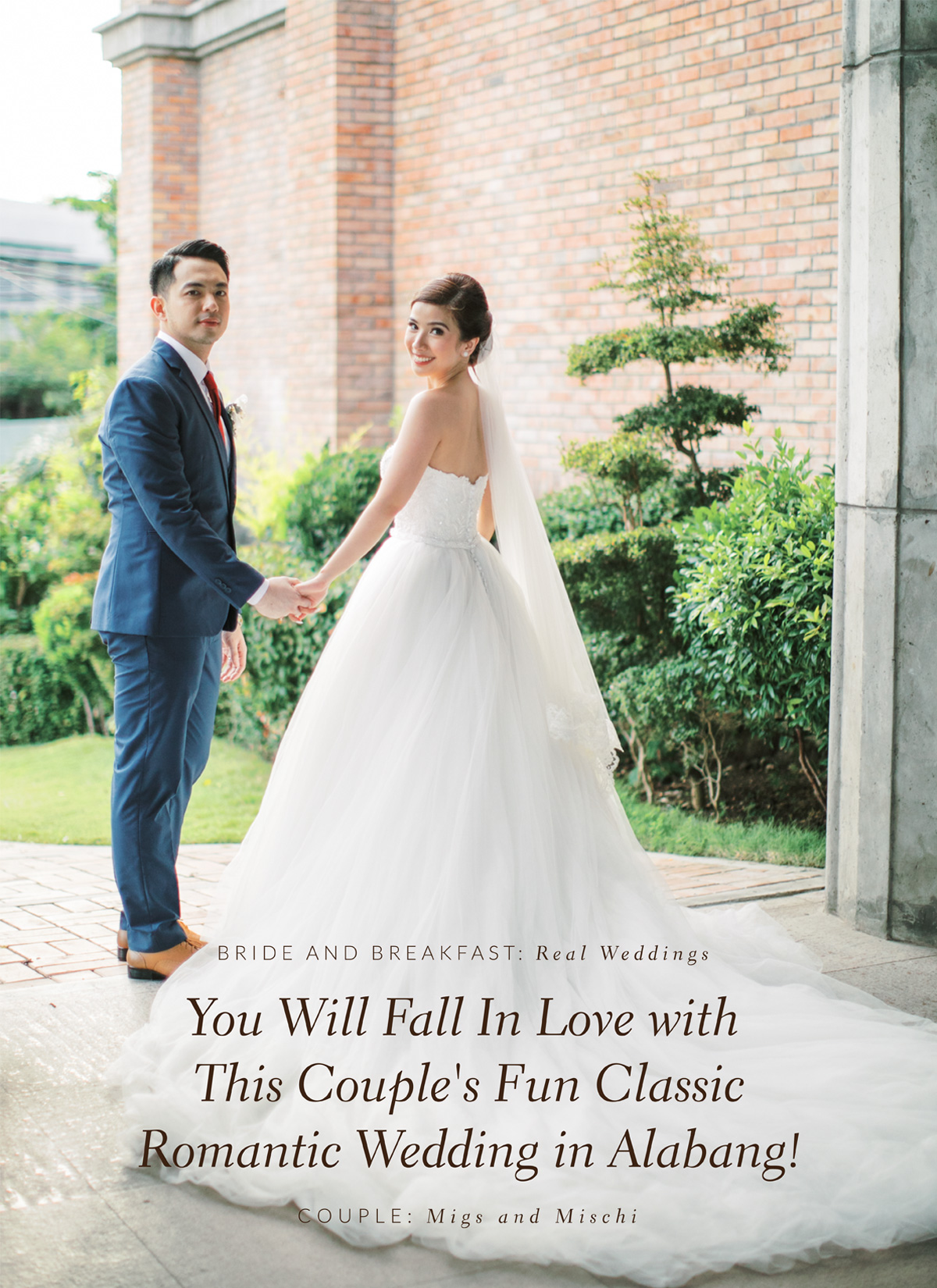 You Will Fall In Love with This Couple's Fun Classic Romantic Wedding in Alabang!