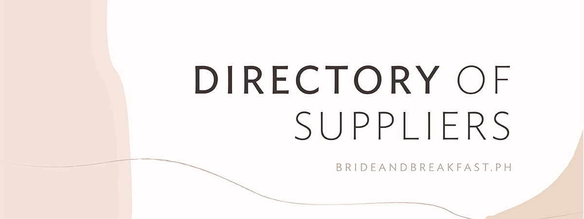 Directory of Suppliers