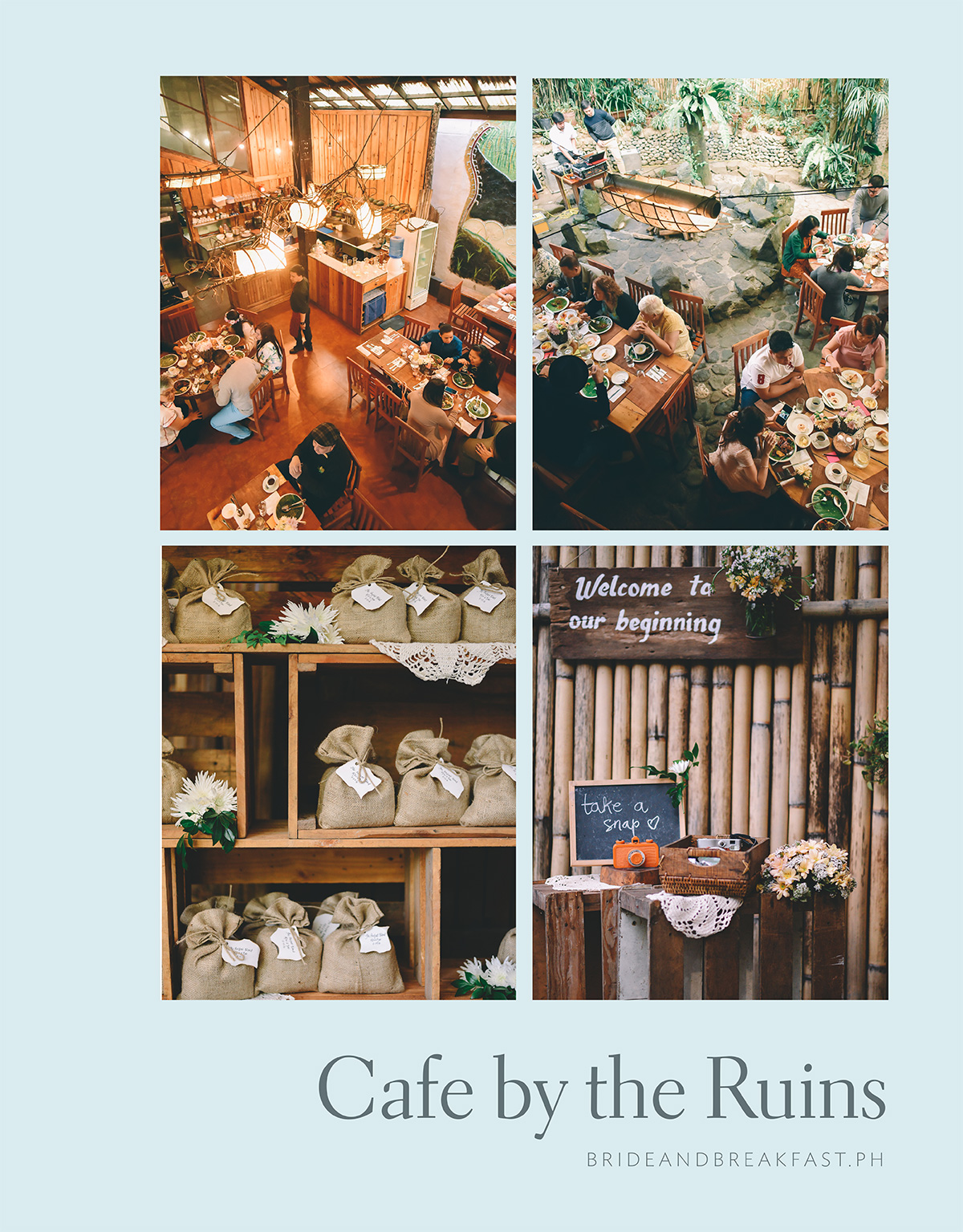 Cafe by the Ruins