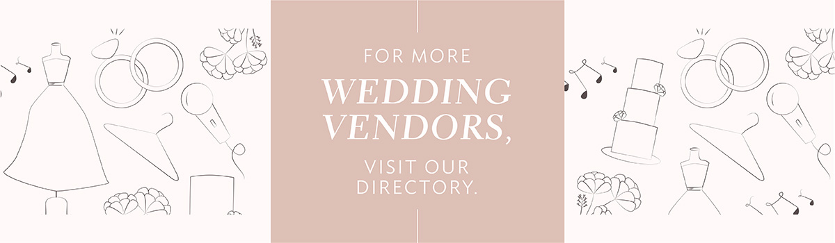 For more wedding vendors, visit our directory.