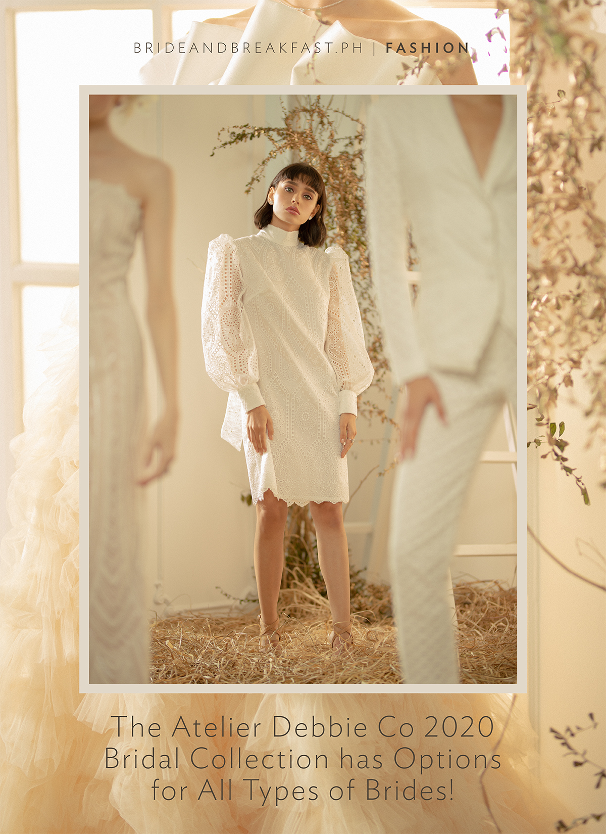 The Atelier Debbie Co 2020 Bridal Collection has Options for All Types of Brides!