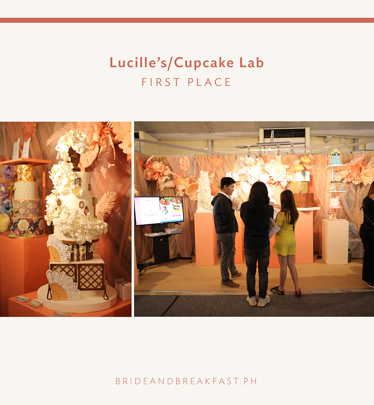 First Place - Lucille's/Cupcake Lab