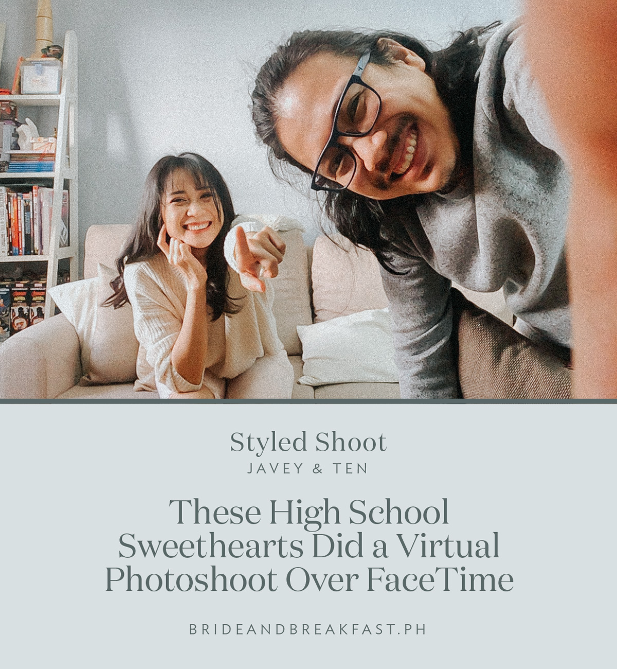 High School Sweetheart Wedding: HS Sweethearts FaceTime Shoot